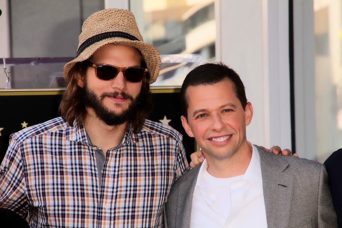 Ashton Kutcher und Jon Cryer