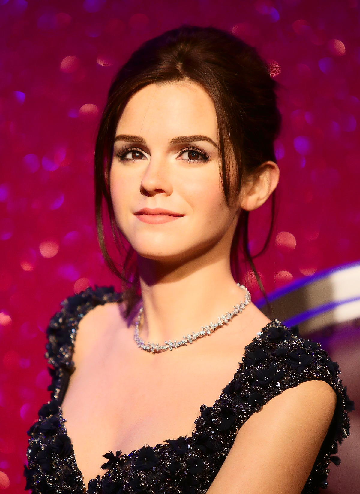 Emma Watson Wachs Figur im Madame Tussauds in London
