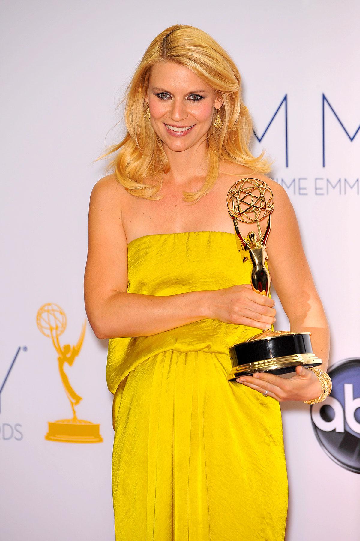 Claire Danes im September 2012 bei den 64. Emmy Awards