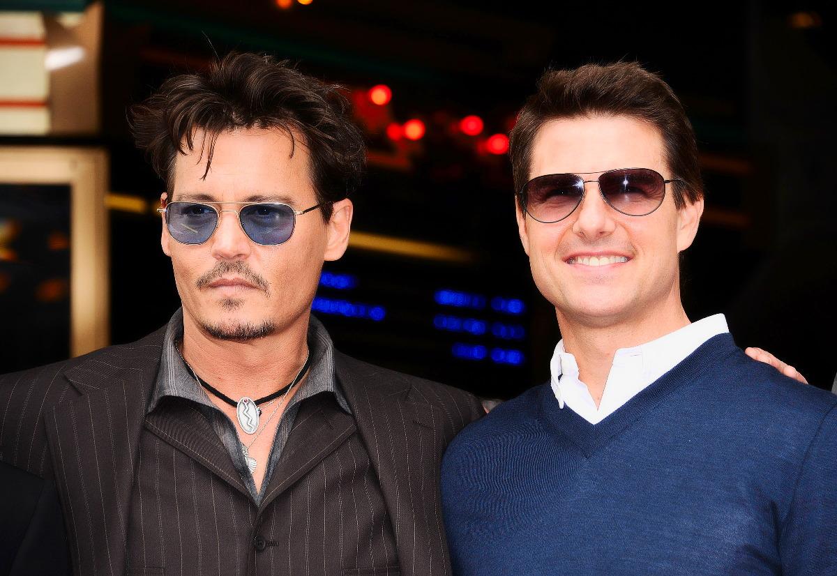 Tom Cruise und Johnny Depp